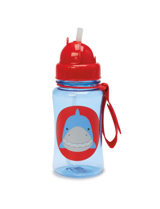 Shark Zoo Straw Bottle