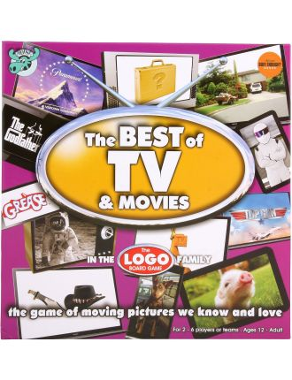 Logo Board Game - Best of TV & Movies