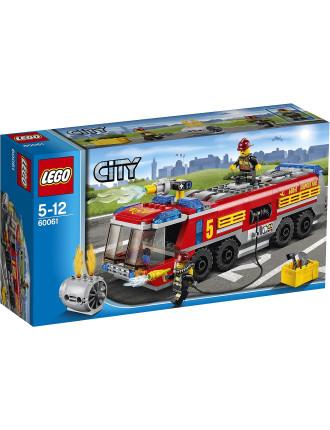 City Airport Fire Truck