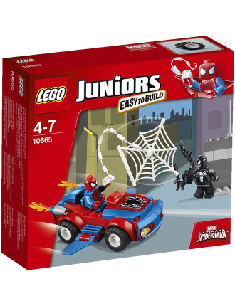 Juniors Spider-Man Spider-Car Pursuit