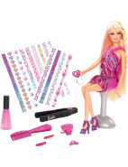 Hair Tattoos Feature Doll $39.99