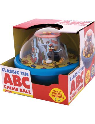 Classic Tin ABC Chime Ball