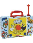 Classic Tin ABC Musical Radio $29.95