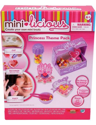 Mini Licious Bakery Princess Theme Pack
