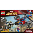 Marvel Super Heroes Spider-Helicopter Rescue $79.99