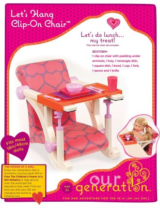 Clip On Chair (Assorted)