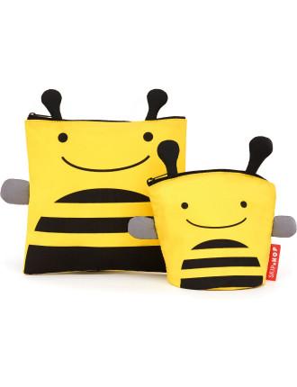 Bee Zoo Snack Pack Set