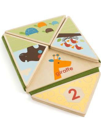 Giraffe Safari Fold & Play Book