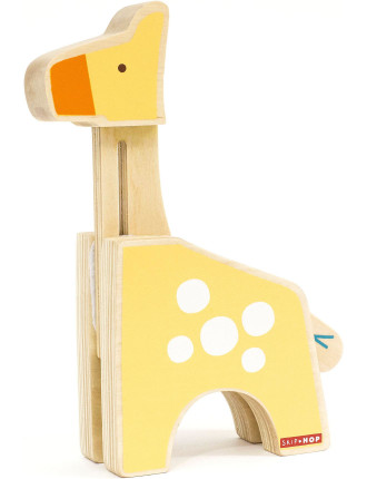 Giraffe Safari Peek & Play Giraffe