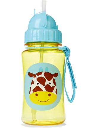 Giraffe Zoo Straw Bottle