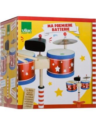 Vilac Kids Drum Set