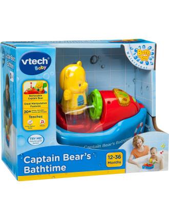 Captain Bear'S Bathtime