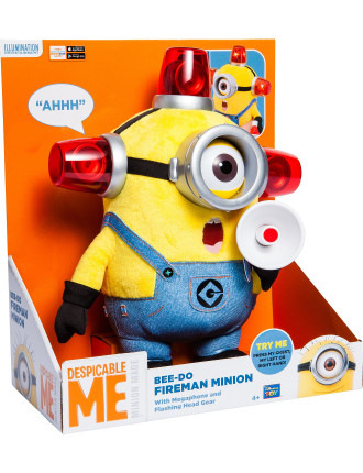 Despicable Me 2 Bee Do Fireman Minion