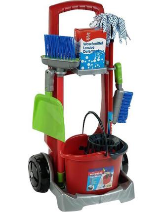Toy Vileda Cleaning Trolley