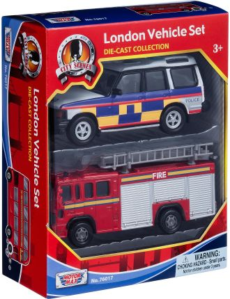 5' London 2 Pack Vehicle Set (Assorted)