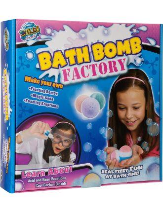 Fizzy Bath Bomb Factory