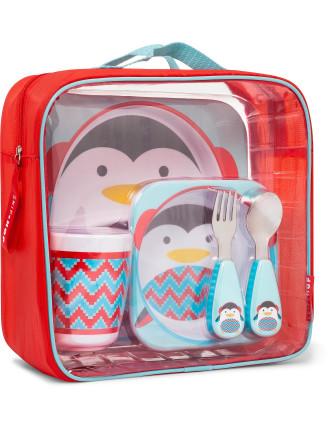 Penguin Zoo Utensil Set