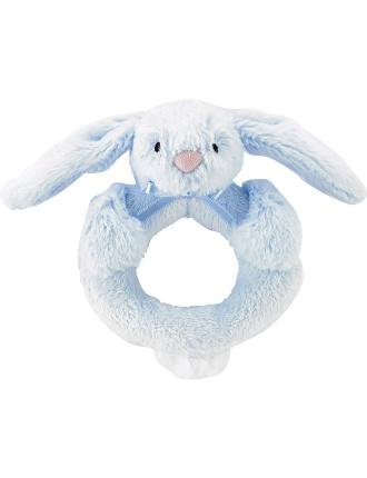 Bashful Bunny Ring Rattle