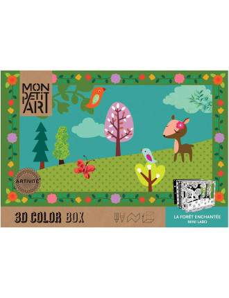 The Enchanted Forest 3D Colour Box