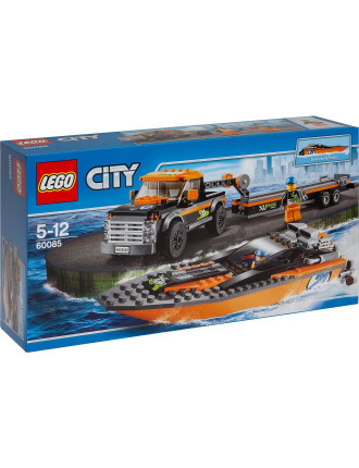 City 4x4 With Powerboat