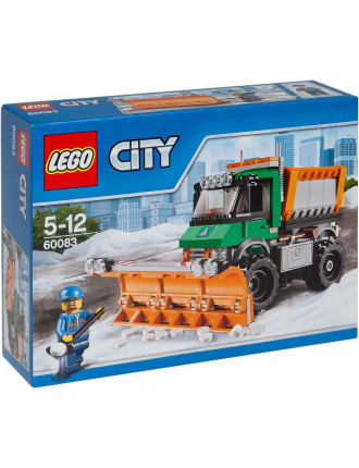 City Snowplow Truck
