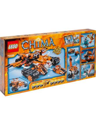 Chima Tiger's Mobile Command