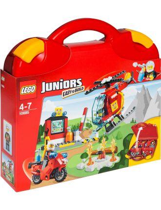Juniors Fire Suitcase