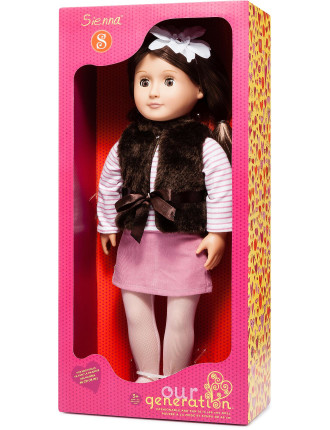 Sienna 18' non Poseable Doll