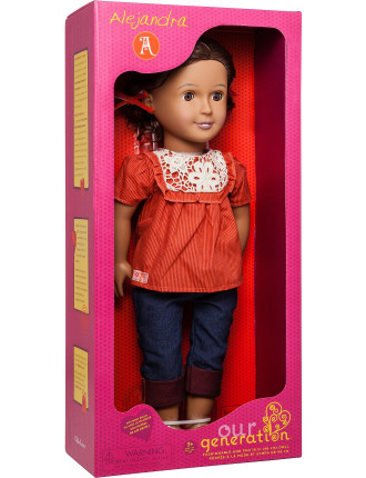 Doll W/ Frilly Top