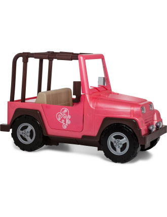 4 x 4 Car for 18' Doll