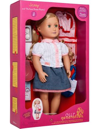 Deluxe Jenny Baker Doll