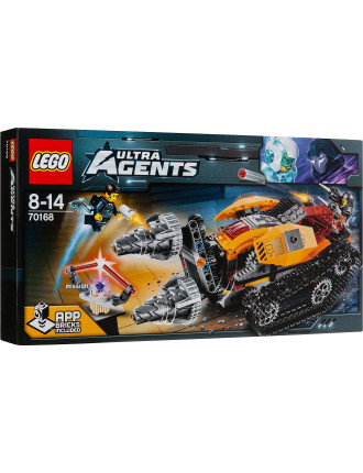 Lego Agents Drillex Diamond Job
