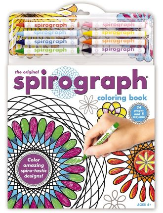 Coloring Book & Pencils