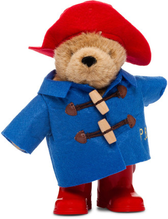 Paddington With Boots Blue Coat
