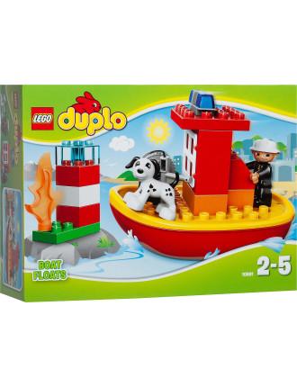 Lego Duplo Fire Boat