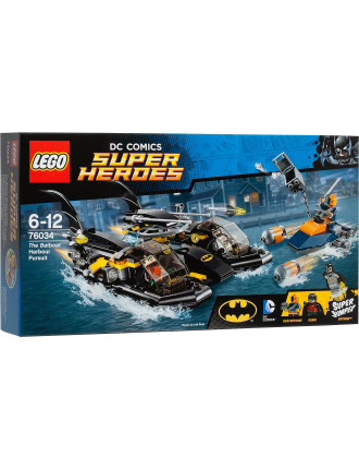 Lego Super Heroes The Batboat Harbor Pursuit