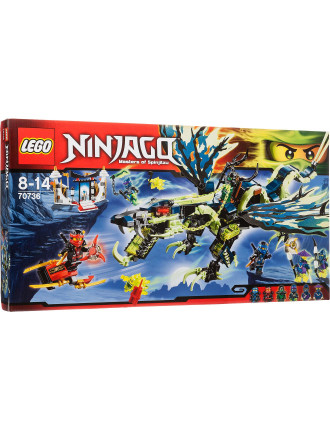 Ninjago Attack Of The Morro Dragon