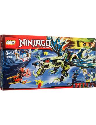Ninjago Attack Of The Morro Dragon