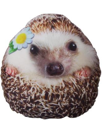 Photoreal Hedgehog Pillow