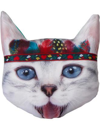 Photoreal Cat Pillow