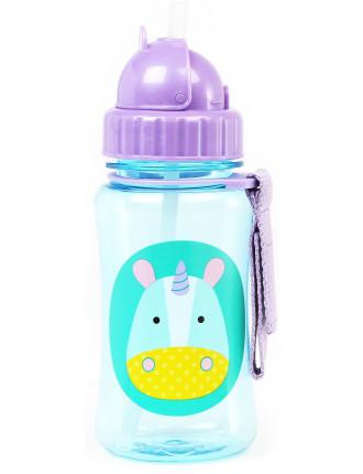 Unicorn Zoo Straw Bottle