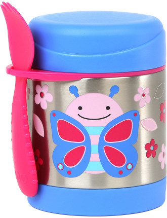 Butterfly Zoo Stainless Steel Food Jar