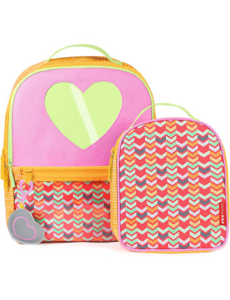 Kindergarten Heart Backpack Set