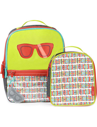 Kindergarten Glasses Backpack Set