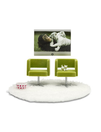 Toy Stockholm Armchair & Tv Set 2010