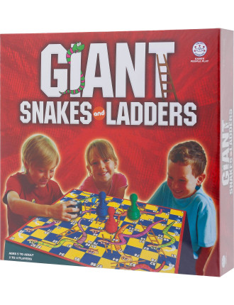 Gaint Snakes & Ladders
