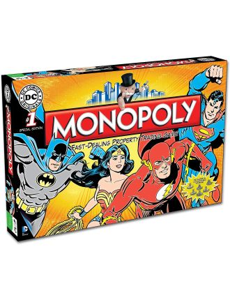 Monopoly DC Comics Edition