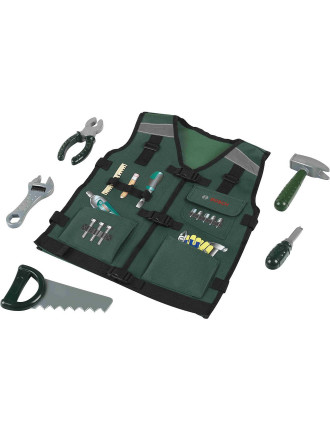 Tool Vest With Accessories