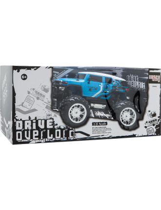 Giant 1:8 Fj Cruiser Truck With Lights Assorted