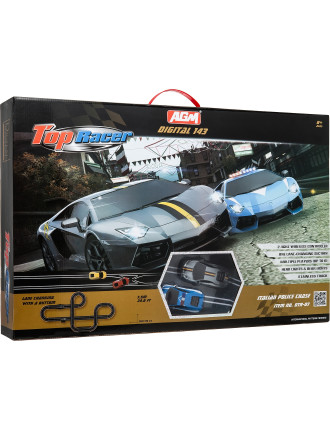 Rusco Racing Digital Fiat 500 Set 8m Track